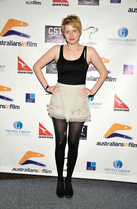 Rachel Hurd-Wood at the Australians In Film screening of Tomorrow When The War Began in October 2010