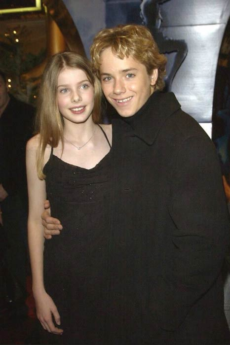 Rachel Hurd Wood and Jeremy Sumpter at a private party