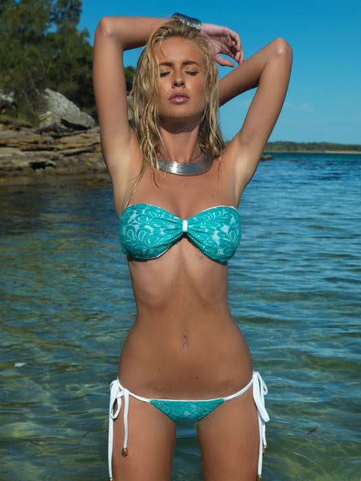 Renee Somerfield in a bikini photoshoot done in 2014