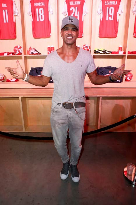 Shemar Moore at the Arsenal Football Club 2016/17 Away & Third Kit reveal event in July 2016