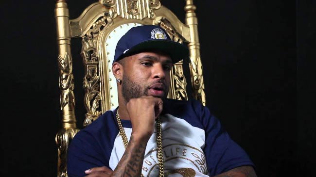 Slim Thug during the Hogg Life: The Beginning (Official Documentary) shooting