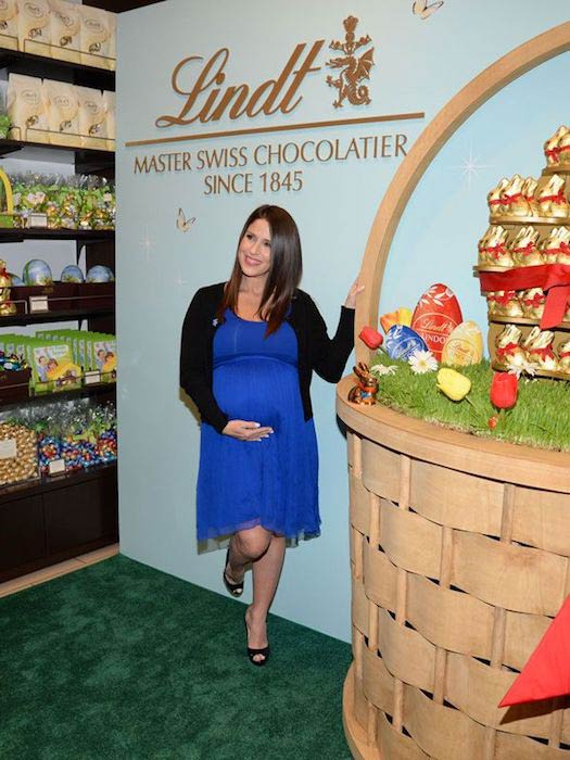 Soleil Moon Frye at Lindt chocolate shop