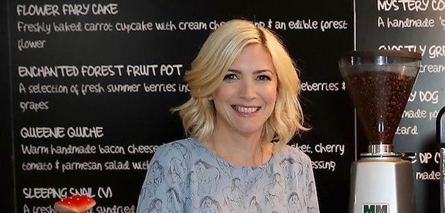 TV chef Lisa Faulkner
