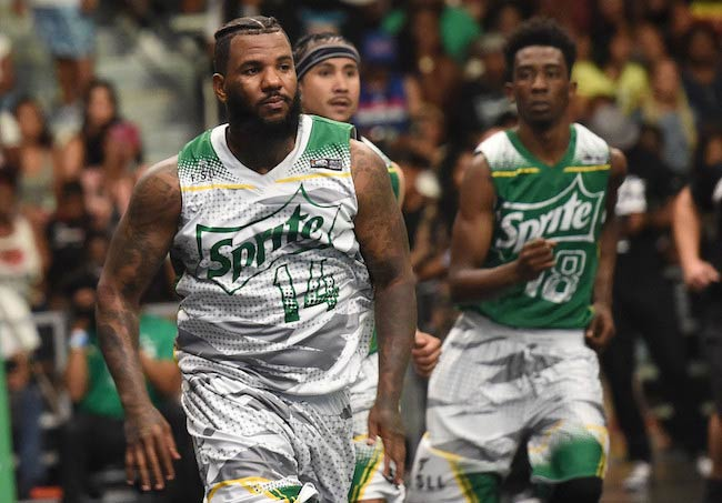 The Game during a Celebrity Basketball Game in Los Angeles on June 25, 2016