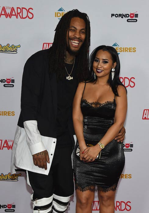 Waka Flocka Flame and Tammy Rivera at the 2016 Adult Video News Awards
