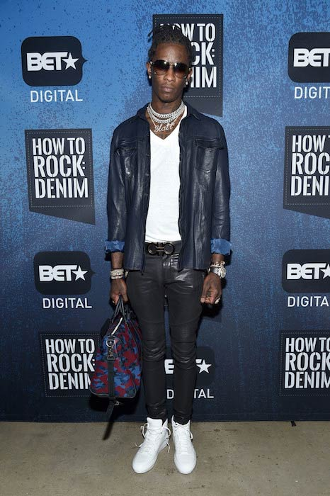 Young Thug at the BET: How To Rock Denim in August 2016
