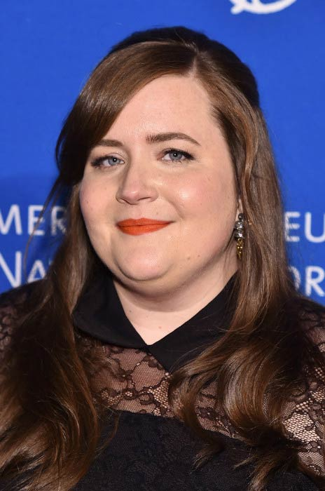 Aidy Bryant at the American Museum of Natural History in November 2016