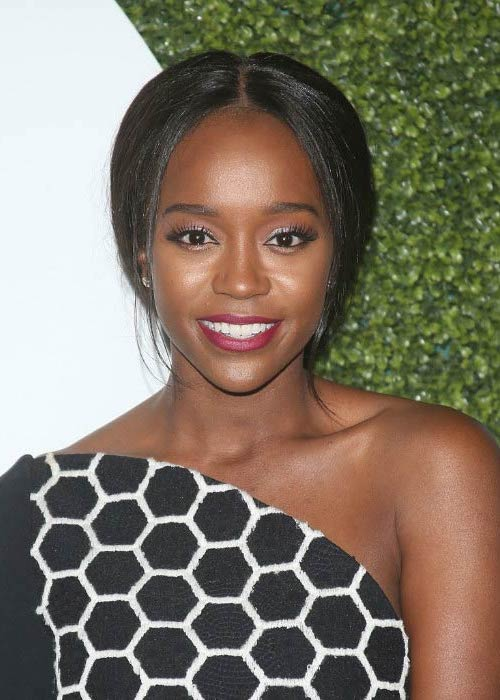 Aja Naomi King at the 2016 GQ Men of the Year Party