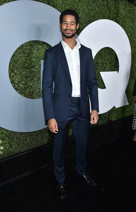 Alfred Enoch at the 2016 GQ Men of the Year Party