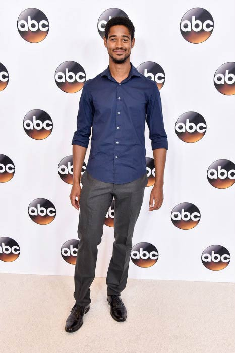 Alfred Enoch at the Disney ABC Television Group TCA Summer Press Tour in August 2016