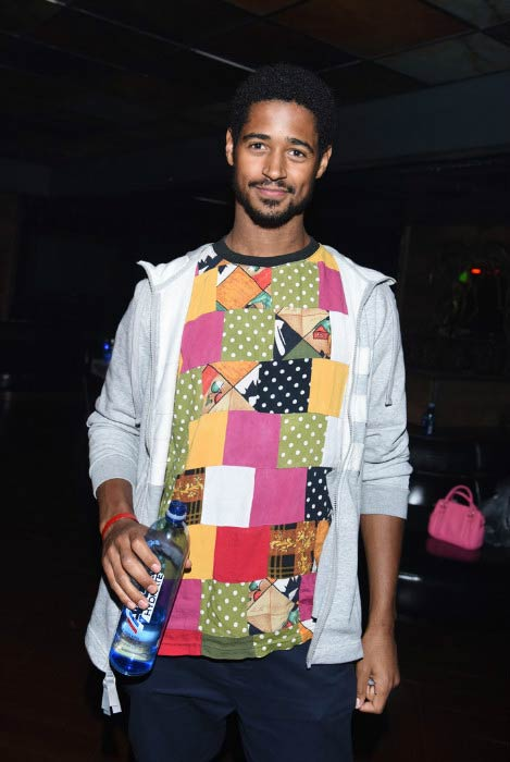 Alfred Enoch at Hyde Staples Center in Los Angeles in September 2016