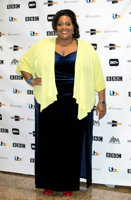 Alison Hammond at the 2016 Screen Nation Film & Television Awards