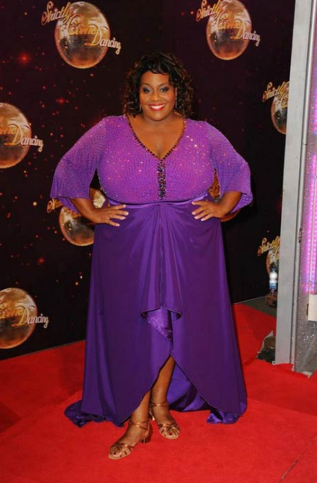 Alison Hammond at the red carpet launch for Strictly Come Dancing in September 2014