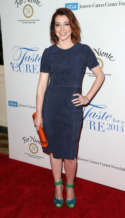 "Alyson Hannigan at the 19th Annual ""Taste For A Cure"" in April 2014"