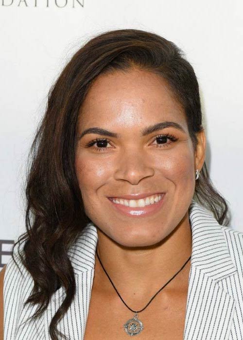 Amanda Nunes at the Equality Awards in September 2016 in Los Angeles