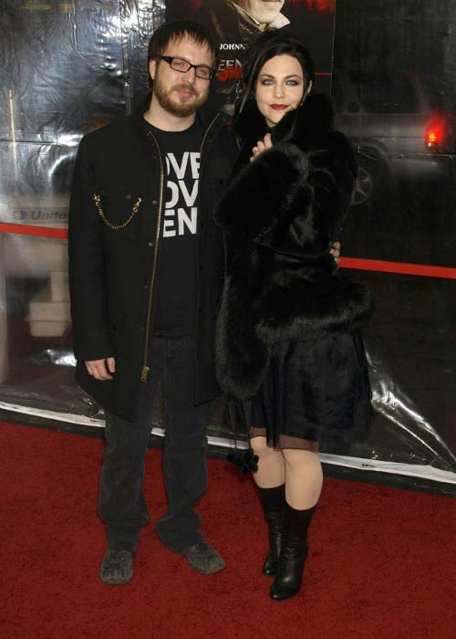 Amy Lee and Josh Hartzler at the Sweeney Todd World Premiere