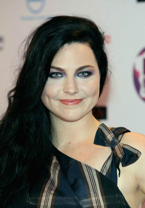 Amy Lee at the MTV Europe Music Awards in November 2011 in Northern Ireland