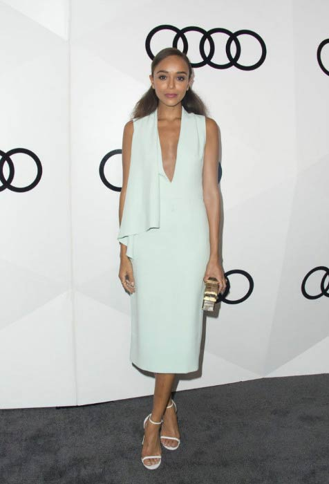 Ashley Madekwe at Audi's exclusive event celebrating the 68th Emmys in September 2016