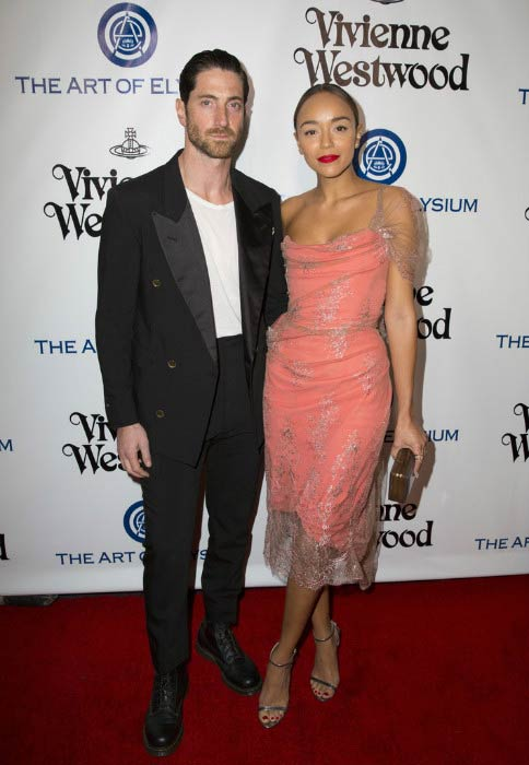 Ashley Madekwe and Iddo Goldberg at The Art of Elysium 2016 HEAVEN Gala in January 2016