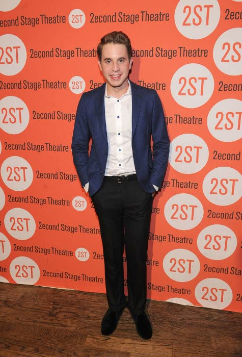 Ben Platt at the Dear Evan Hansen Off-Broadway Opening Celebration Party in May 2016