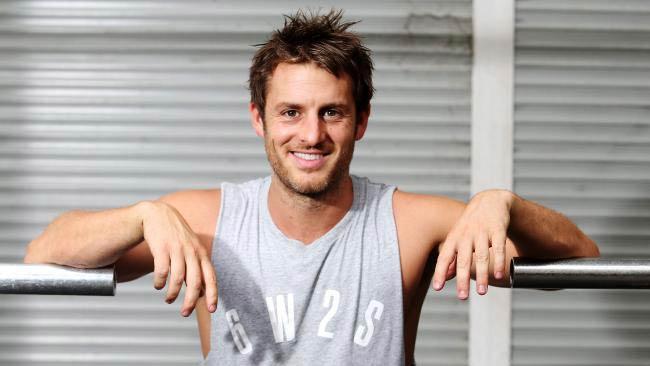 Blake Worrall-Thompson during a workout