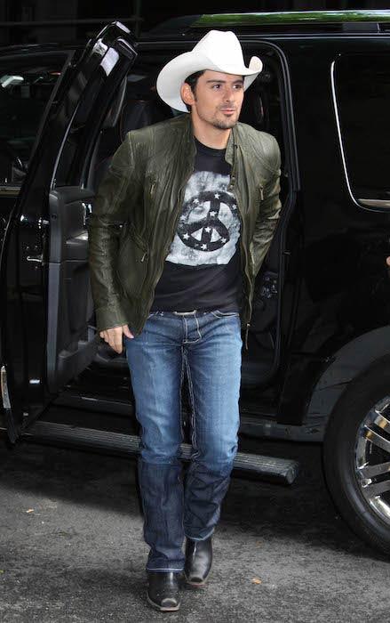 Brad Paisley as seen in US in December 2016