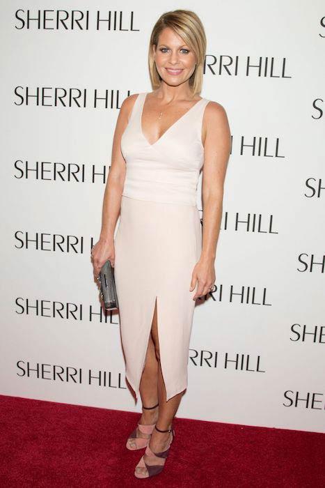 Candace Cameron-Bure at Sherri Hill Fashion Show 2017 Spring Summer at New York Fashion Week