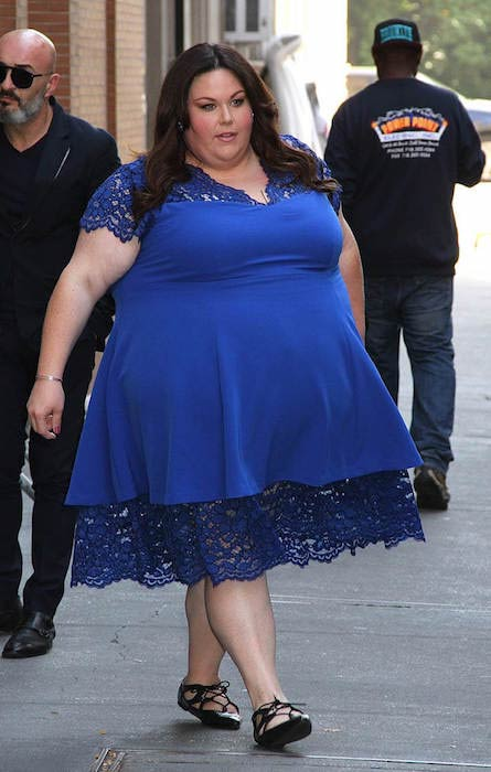 Chrissy Metz spotted leaving 'The View' in NYC, October 18, 2016