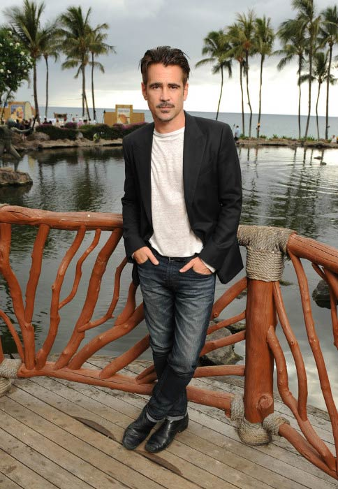 Colin Farrell at the Maui Film Festival in June 2015 in Hawaii