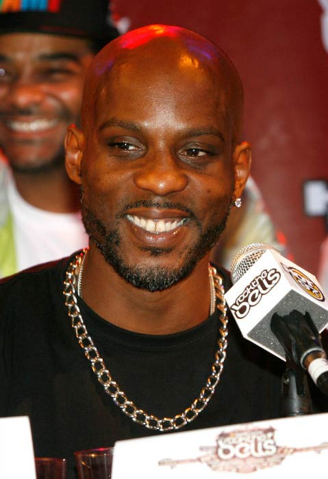 DMX during the Rock the Bells Festival press conference and Fan Appreciation Party in June 2012