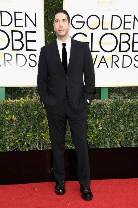 David Schwimmer at the 2017 Golden Globe Awards