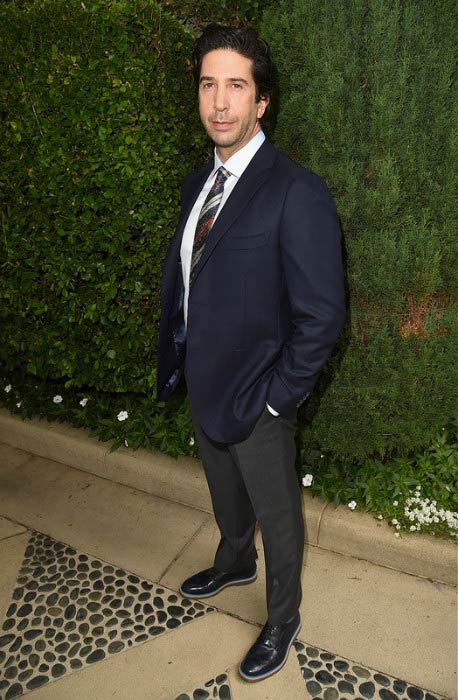 David Schwimmer at The Rape Foundation's annual brunch in October 2015