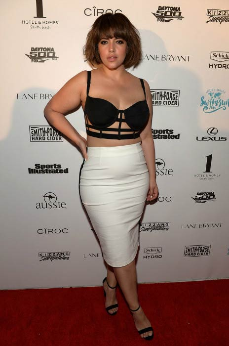 Denise Bidot at the Sports Illustrated Swimsuit 2016 Swim BBQ VIP