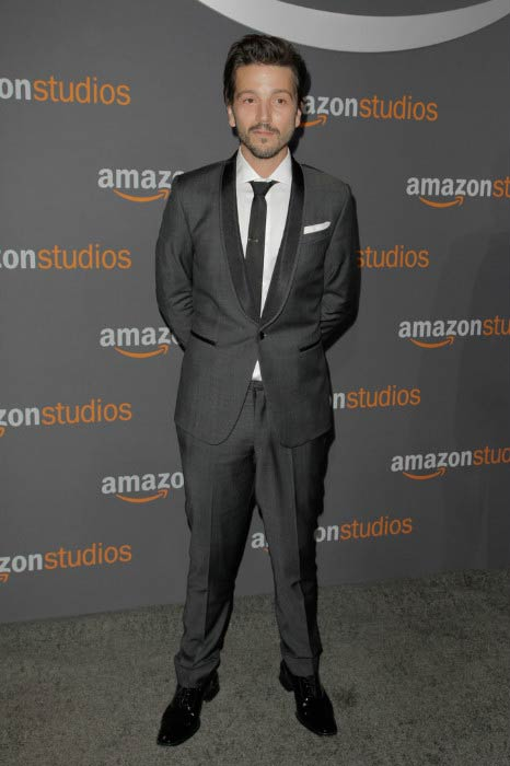Diego Luna at the Amazon Studios Golden Globes Party in January 2017