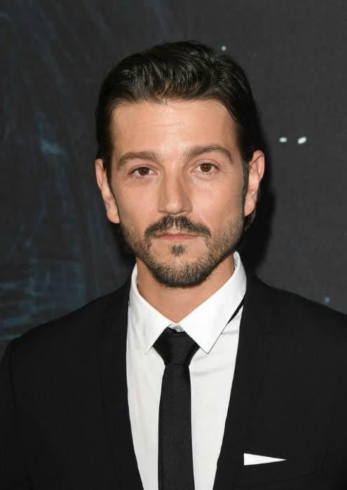 Diego Luna at the screening of Rogue One: A Star Wars Story in December 2016