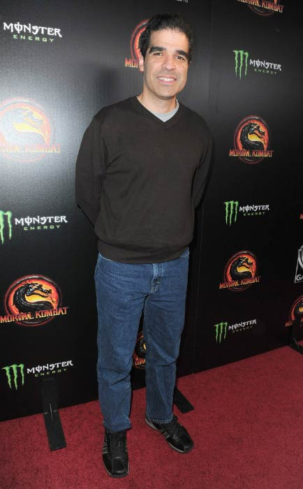Ed Boon at the unleashing of Warner Bros.' Mortal Kombat Legacy in April 2011