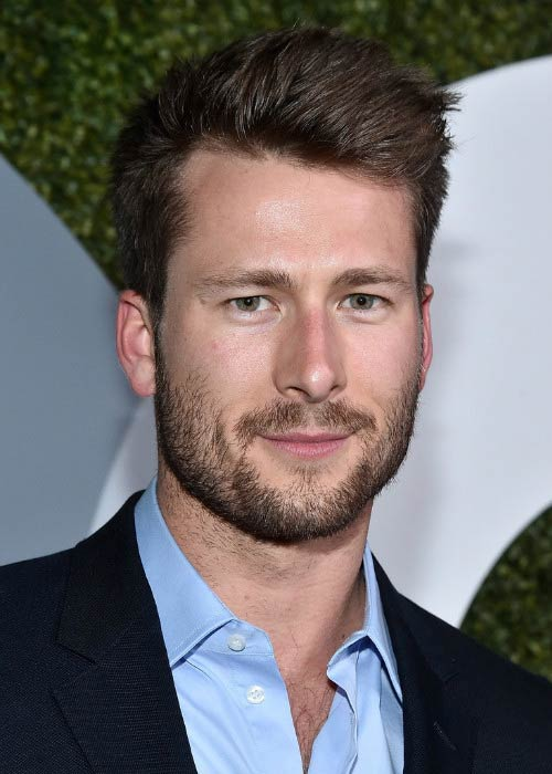 Glen Powell at the 2016 GQ Men of the Year Party