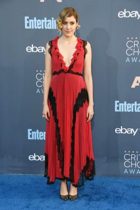 Greta Gerwig at the 2016 Critics' Choice Awards