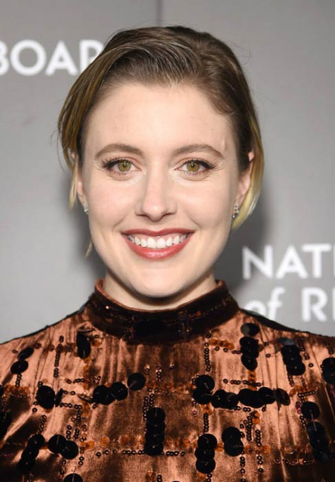 Greta Gerwig at the National Board of Review Gala in January 2017