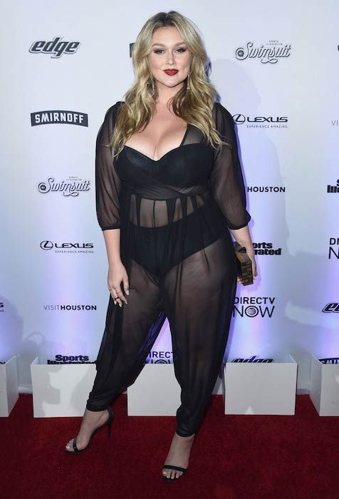 Hunter McGrady at 2017 Sports Illustrated Swimsuit NYC launch event
