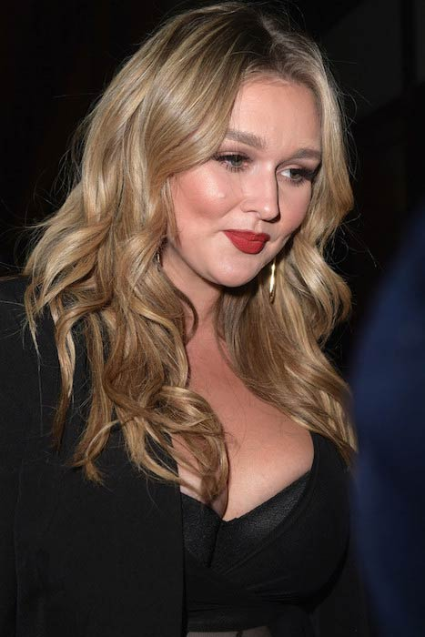 Hunter McGrady at Sports Illustrated Swimsuit 2017 NYC launch event
