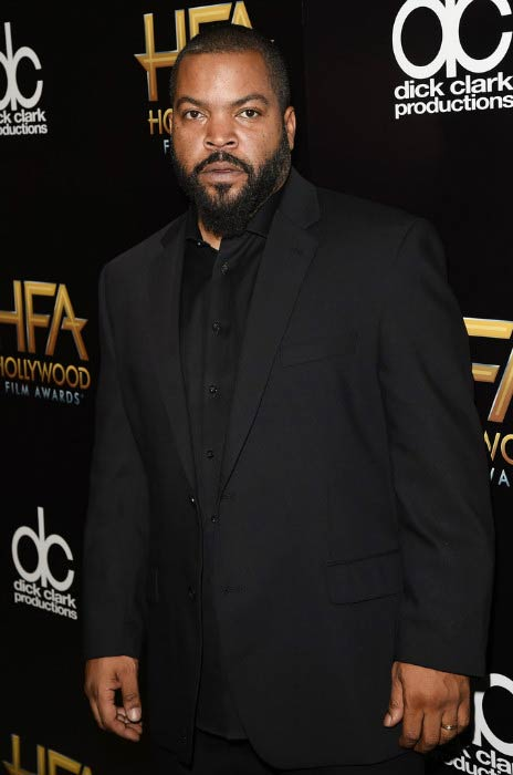 Ice Cube at the Hollywood Film Awards in November 2015