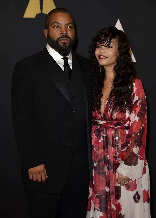 Ice Cube and Kimberly Woodruff at the Academy of Motion Picture Arts and Sciences' 7th annual Governors Awards