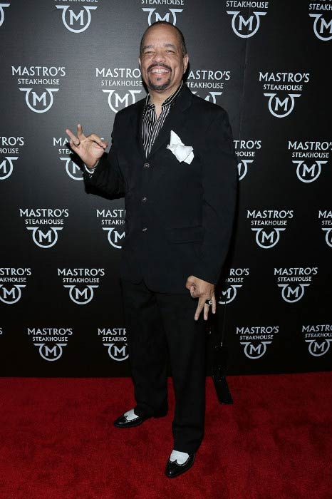 Ice-T at the Mastro's Steakhouse Grand Opening Celebration in November 2014