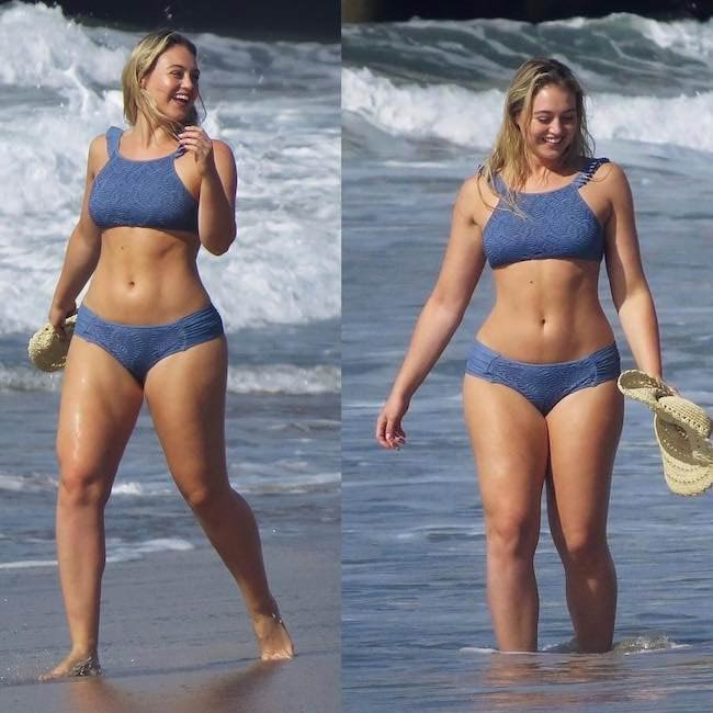 Iskra Lawrence in swimsuit