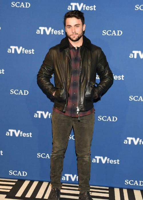 Jack Falahee at the How To Get Away With Murder event presented by SCAD in February 2016