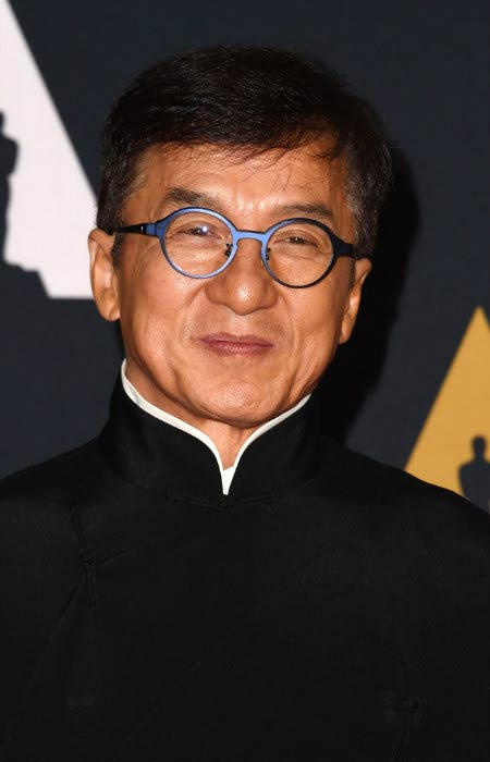 Jackie Chan at the 2016 Governors Awards in Hollywood, California