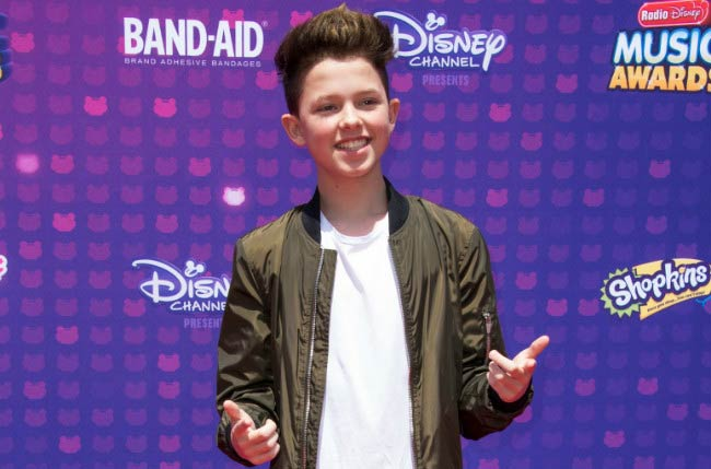 Jacob Sartorius at the 2016 Radio Disney Music Awards