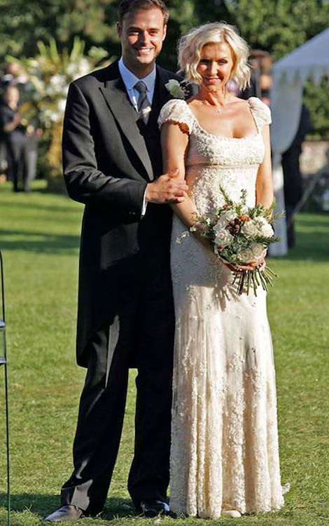Jamie Theakston with wife Sophie Siegle