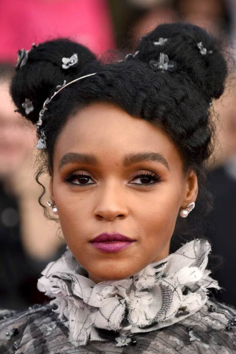 Janelle Monae at the 2017 Screen Actors Guild Awards